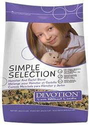 Armstrong Devotion Simple Selection Small Animal Food - Hamster & Gerbil