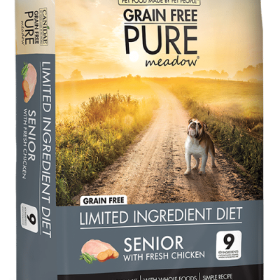 Canidae Grain Free Dog Food Pure Meadow Senior Food with Chicken