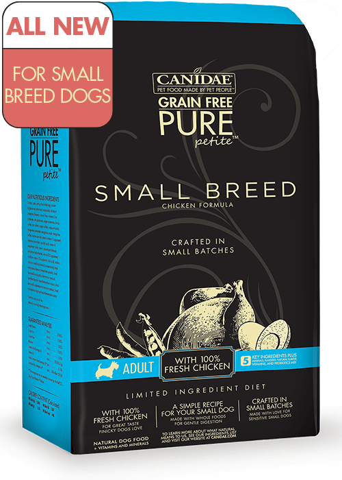 Canadian Made Small Breed Dog Food