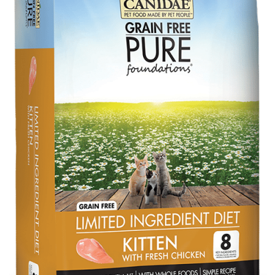 Canidae Grain Free Pure Foundations Kitten Food with Chicken