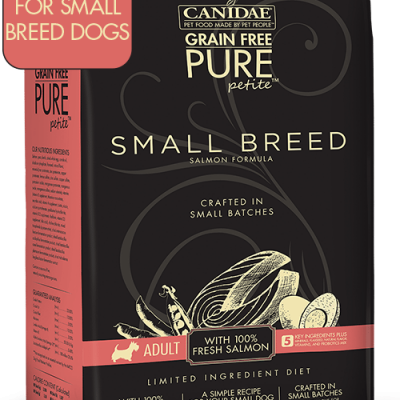 Canidae Grain Free Pure Petite Small Breed Dog Food Salmon