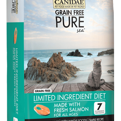 Canidae Grain Free Pure Sea Cat and Kitten Food with Fresh Salmon