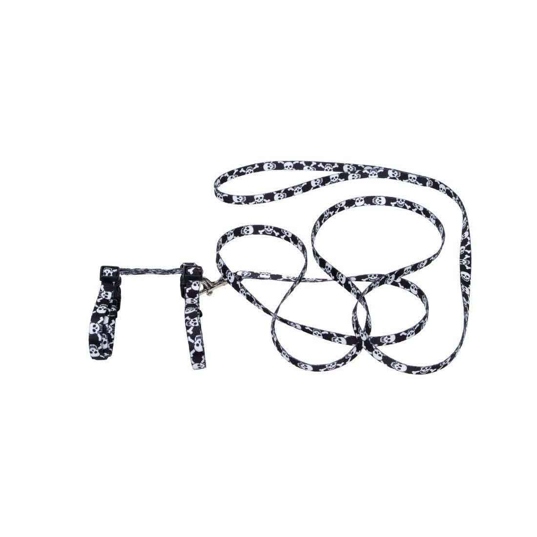 coastal figure h fashion adjustable cat harness and leash
