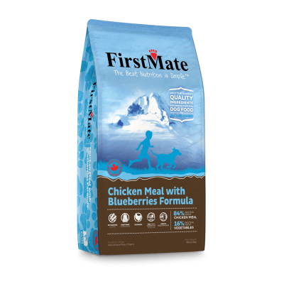FIRST MATE Chicken with Blueberries Dog Food - Grain Free - For All Life Stages