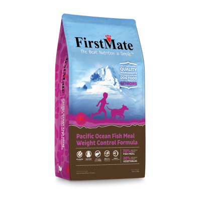 Buy FirstMate Pacific Ocean Fish Senior and Weight Control Grain Free Dog Food online in Canada from Canadian Pet Connection