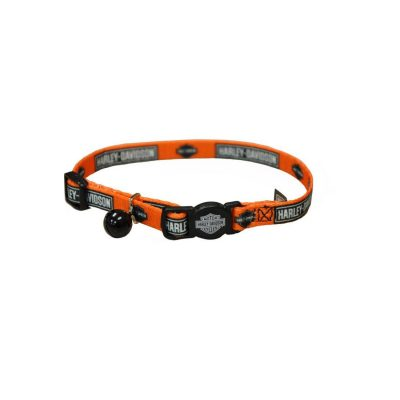 Coastal Harley-Davidson Adjustable Breakaway Cat Collar