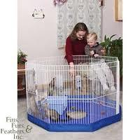 "MARSHALL Small Animal Playpen 18"" X 29"" / Mat"