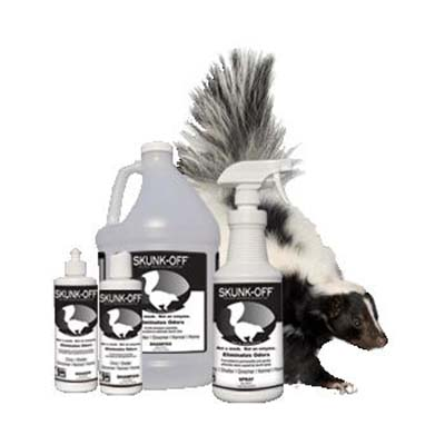 SKUNK-OFF Shampoo, Liquid Spray or Soaker