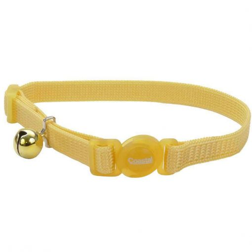 Coastal Safe Cat Adjustable Snag-Proof Nylon Breakaway Collar