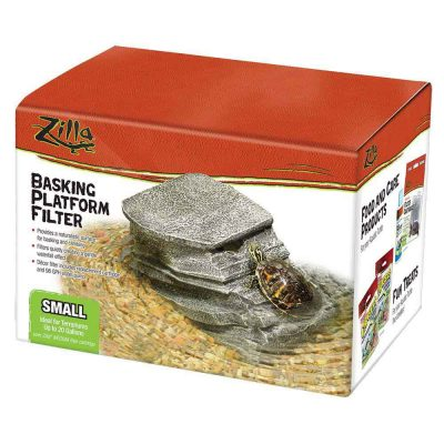 Zilla Basking Platform Filters for Reptile Terrariums & Replacement Cartridges