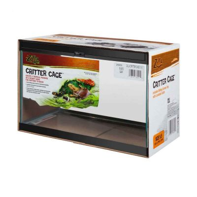 Zilla Critter Cage Enclosures Terrariums for Reptiles