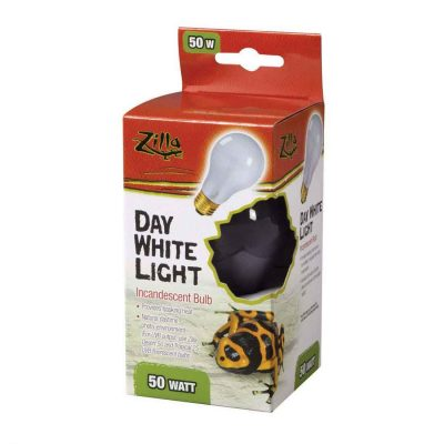 Zilla Day White Incandescent Terrarium Light Bulb