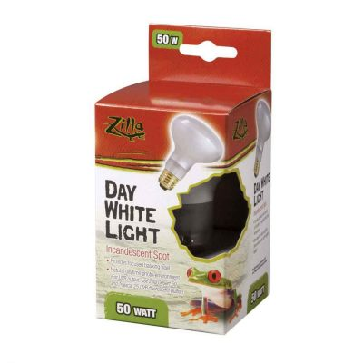 Zilla Day White Incandescent Terrarium Spot Light Bulb