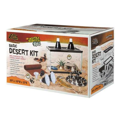 Zilla Desert Starter Kits for Juvenile Desert Animals