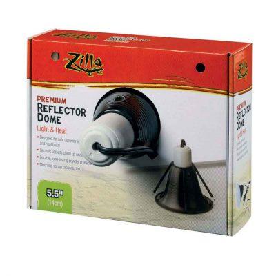 Zilla Premium Terrarium Reflector Dome Light Fixture