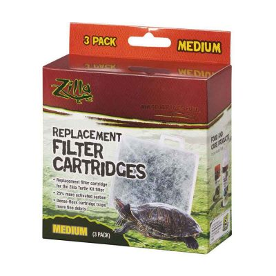 Zilla Replacement Filter Cartridges for Terrarium Accessories