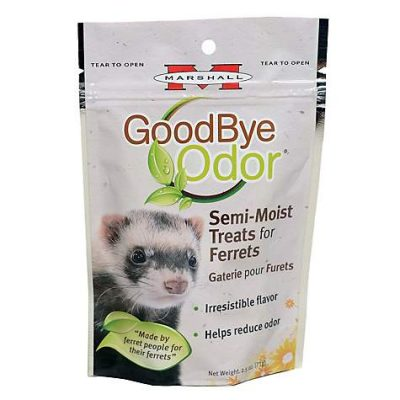 Buy Marshall Goodbye Odour ferret treats online in Canada from Canadian Pet Connection