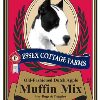 ESSEX COTTAGE FARMS Canine Treat Mixes - Dutch Apple Muffin, Carob Fudge Brownie, and Holiday Cake Mix