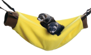 Marshall Banana Hammock Hanging Bed for Ferrets