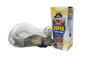 Marshall Super Thru-Way Clear Expandable Tunnel for Ferrets