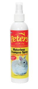 Marshall Peter's Waterless Shampoo Spray for Rabbits and Small Animals