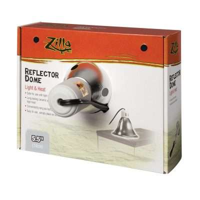 Zilla Silver Terrarium Lighting Reflector Dome