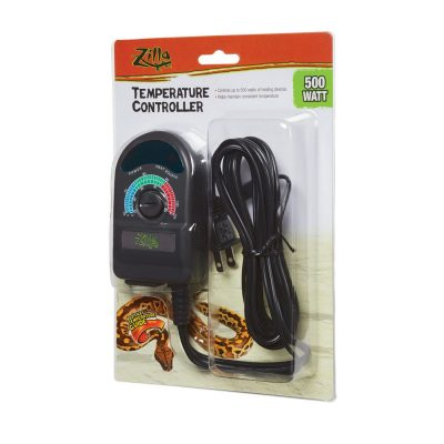 Zilla Temperature Controllers for Terrariums