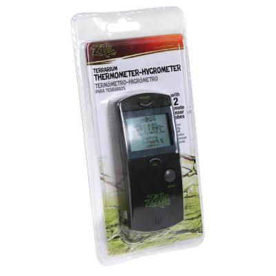 Zilla Terrarium Thermometer-Hygrometer