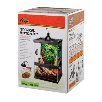 Zilla Tropical Vertical Kit for Reptiles