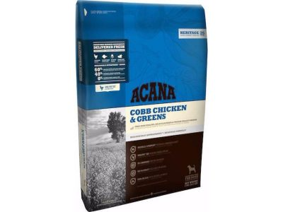 Buy Acana Heritage Grain Free Adult Dog Food, previously Acana Cobb Chicken and Greens, online in Canada