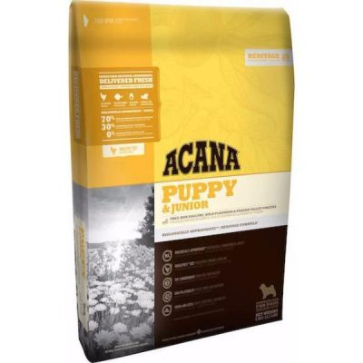 Buy Acana Heritage Grain Free Puppy and Junior Dry Dog Food online in Canada