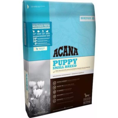 Buy Acana Heritage Grain Free Small Breed Puppy Dry Dog Food online from Canadian Pet Connection