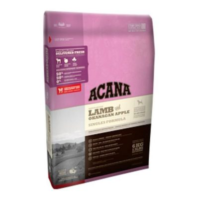 Buy Acana Singles Lamb and Okanagan Apple Dry Dog Food online in Canada