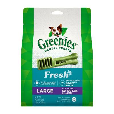 buy Greenies-Fresh-Mint-Dental-Chew-Dog-Treats