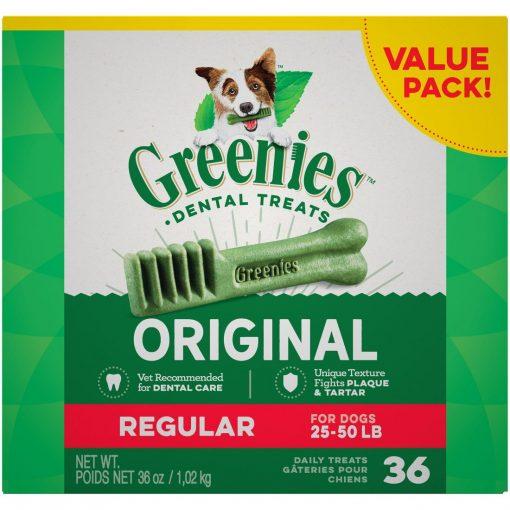 Greenies Original Dental Chew Dog Treats