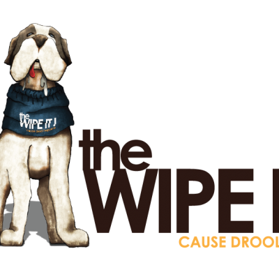 Comfy Cone The Wipe It Drool Bib for Dogs