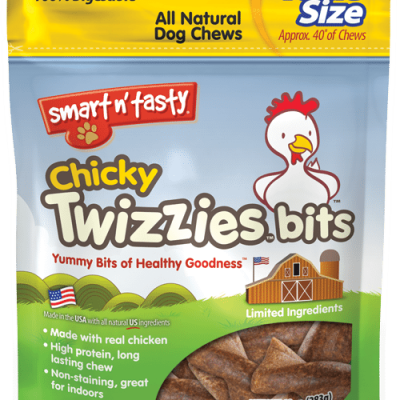 Emerald Pet Smart N Tasty Twizzies Bits Dog Treats