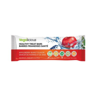 Fou Fou Dog Healthy Treat Bars for Dogs - Apple Berry Blast
