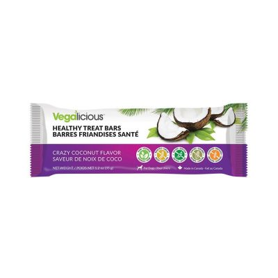 Fou Fou Dog Healthy Treat Bars for Dogs - Crazy Coconut