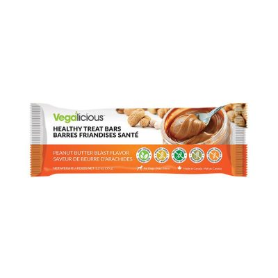 Fou Fou Dog Healthy Treat Bars for Dogs - Peanut Butter