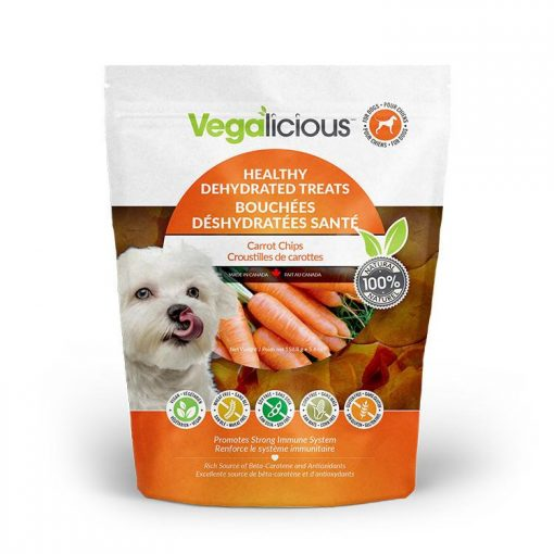 Fou Fou Dog Vegalicious Carrot Chips Dog Treats