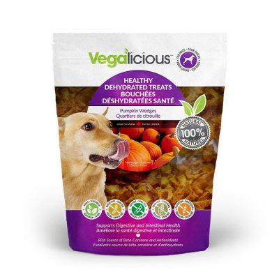 Fou Fou Dog Vegalicious Pumpkin Wedges Dog Treats