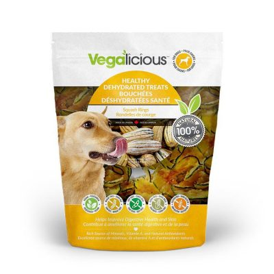 Fou Fou Dog Vegalicious Squash Rings Dog Treats