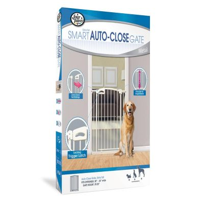 Four Paws Auto Closing Gate Extra Tall