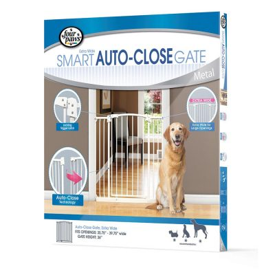 Four Paws Auto Closing Gate Extra Wide