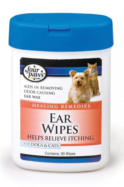 Four Paws Ear Wipes for Dogs and Cats