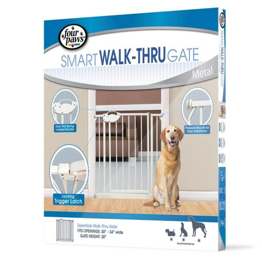 Four Paws Essential Walk-Thru Gate