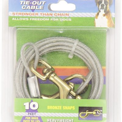 Four Paws Heavy Weight Tie Out Cable for Dogs