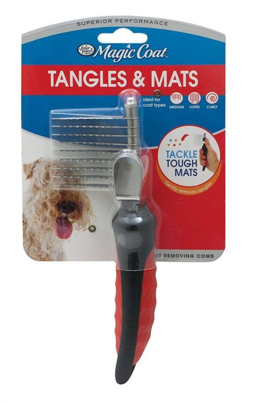 Four Paws Magic Coat Adjustable Mat Breaker with Blade
