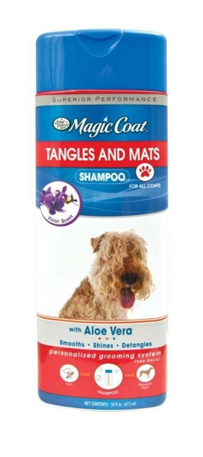 Four Paws Magic Coat Tangle and Mats Shampoo Aloe Vera Specially Formulated